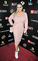 Amy Christophers at the Ultimate Boxxer III professional boxing tournament, indigO2 at The O2, Millennium Way, Greenwich, London, England, UK, on Friday 10th May 2019.<br /> CAP/CAN<br /> &copy;CAN/Capital Pictures