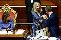 Julia Unterberger and Elisabetta Alberti Casellati<br /> Rome September 10th 2019. Senate. Discussion and Trust vote at the new Government. <br /> Foto  Samantha Zucchi Insidefoto
