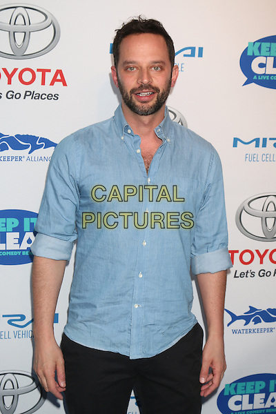 HOLLYWOOD, CA - APRIL 21: Nick Kroll at the Keep It Clean Comedy Benefit For Waterkeeper Alliance at Avalon on April 21, 2016 in Hollywood, California. <br /> CAP/MPI/DE<br /> &copy;DE/MPI/Capital Pictures