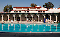 Occidental College's Taylor Pool, 2009.  (Photo by Marc Campos, Occidental College Photographer)