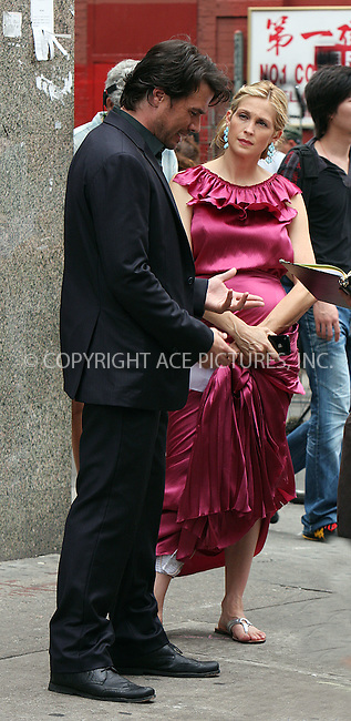 "WWW.ACEPIXS.COM . . . . .  ....August 12 2009, New York City....Actors Matthew Settle and Kelly Rutherford on the set of the TV show ""Gossip Girl"" in Manhattan on August 12, 2009 in New York City.....Please byline: AJ Sokalner - ACEPIXS.COM..... *** ***..Ace Pictures, Inc:  ..tel: (212) 243 8787..e-mail: info@acepixs.com..web: http://www.acepixs.com"