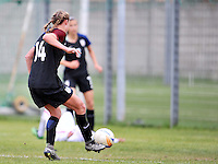 Monfalcone, Italy, April 26, 2016.<br /> USA's #14 Wingate scores the goal of 5-0 during USA v Iran football match at Gradisca Tournament of Nations (women's tournament). Monfalcone's stadium.<br /> &copy; ph Simone Ferraro / Isiphotos