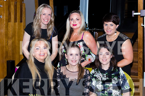 Elaine McCarthy listowel who celebrated her hen party with her friends in the Ross Hotel on Saturday night front row l-r: Elvina mcDermott, Elaine McCarthy, margaret Lane. Back row: Geraldine McCarthy, Sharon Heffernan and Lisa Keane