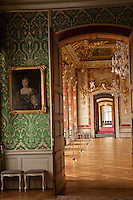 Baroque Rundale Palace in Latvia-built 1768