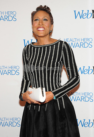 New York, NY-  November 6: Robin Roberts attends the Health Hero Awards  hosted by Web MD at the Times Center on November 6, 2014 in New York City. Credit: John Palmer/MediaPunch