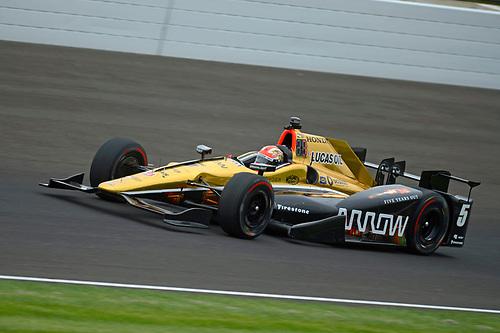 16-20 May, 2016, Indianapolis, Indiana USA<br /> James Hinchcliffe (#5)<br /> ©2016, F. Peirce Williams<br /> LAT Photo USA