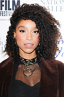 Lianne Le Havas at the London Film Festival 2017 screening of &quot;Loving Vincent&quot; at the National Gallery, Trafalgar Square, London, UK. <br /> 09 October  2017<br /> Picture: Steve Vas/Featureflash/SilverHub 0208 004 5359 sales@silverhubmedia.com
