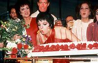 1978 <br />New York, NY<br />Chita rivera, Halston and Liza Minnelli at Studio 54<br />Credit:  Adam Scull-PHOTOlink/MediaPunch