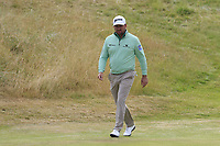 Graeme McDowell (NIR) at 14th green during Thursday's Round 1 of the 2018 Dubai Duty Free Irish Open, held at Ballyliffin Golf Club, Ireland. 5th July 2018.<br /> Picture: Eoin Clarke | Golffile<br /> <br /> <br /> All photos usage must carry mandatory copyright credit (&copy; Golffile | Eoin Clarke)