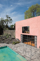 Casa Pedregal by Luis Barragan. Pedregal, Mexico City