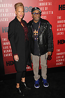 www.acepixs.com<br /> April 18, 2017  New York City<br /> <br /> Tonya Lewis Lee and Spike Lee attending 'The Immortal Life of Henrietta Lacks' premiere at SVA Theater on April 18, 2017 in New York City.<br /> <br /> Credit: Kristin Callahan/ACE Pictures<br /> <br /> <br /> Tel: 646 769 0430<br /> Email: info@acepixs.com
