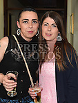 Yvonne Matthews and Carly Smyth at the benefit night for the Neonatal Intensive Care Unit in Our Lady of Lourdes hospital held in the Grove House Dunleer. Photo:Colin Bell/pressphotos.ie