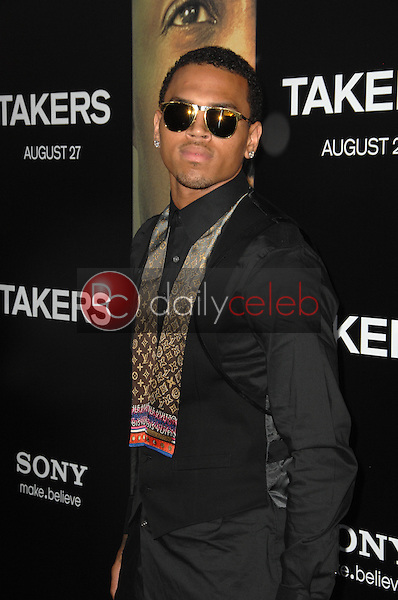 """Chris Brown<br /> at the """"Takers"""" World Premiere, Arclight Cinerama Dome, Hollywood, CA. 08-04-10<br /> David Edwards/Dailyceleb.com 818-249-4998"""