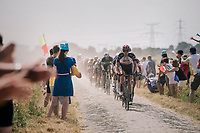 on pav&eacute; sector #6<br /> <br /> Stage 9: Arras Citadelle &gt; Roubaix (154km)<br /> <br /> 105th Tour de France 2018<br /> &copy;kramon