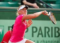 02-06-12, France, Paris, Tennis, Roland Garros, Kaia Kanepi