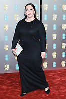 Melissa McCarthy<br /> arriving for the BAFTA Film Awards 2019 at the Royal Albert Hall, London<br /> <br /> ©Ash Knotek  D3478  10/02/2019