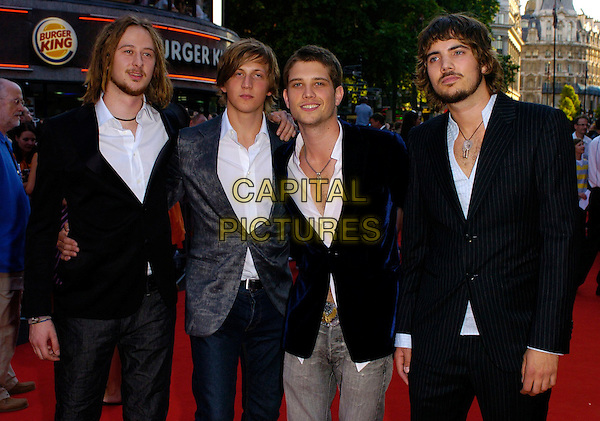 """ROOSTER.The """"Stormbreaker"""" world premiere at Vue West End, London, UK..July 17th, 2006.Ref: CAN.half length black blue suit jackets.www.capitalpictures.com.sales@capitalpictures.com.©Capital Pictures"""