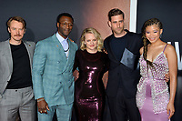 """LOS ANGELES, CA: 24, 2020: Michael Dorman, Aldis Hodge, Elisabeth Moss, Oliver Jackson-Cohen & Storm Reid at the premiere of """"The Invisible Man"""" at the TCL Chinese Theatre.<br /> Picture: Paul Smith/Featureflash"""