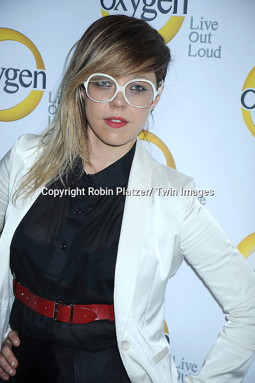 DJ MNDR attending the Oxygen Upfront on April 4, 2011 at Gotham Hall in New York City.