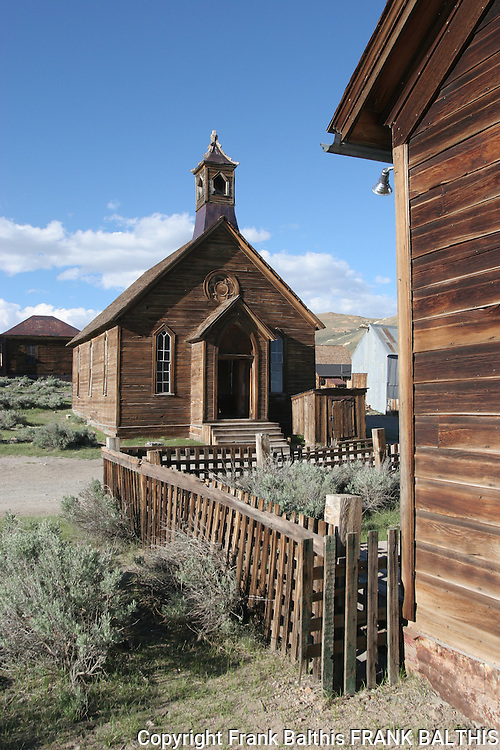 church in Bodie SHP
