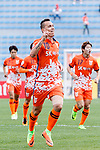 Jeju United Forward Marcelo Toscano celebrating his score during the AFC Champions League 2017 Round of 16 match between Jeju United FC (KOR) vs Urawa Red Diamonds (JPN) at the Jeju Sports Complex on 24 May 2017 in Jeju, South Korea. Photo by Yu Chun Christopher Wong / Power Sport Images