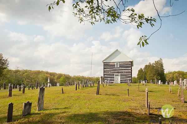 Old Log Church. 1806.