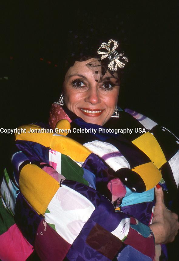 Liliane Montevecchi 1986 NYC By <br /> Jonathan Green