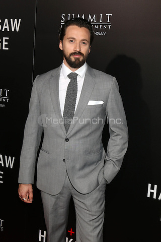 BEVERLY HILLS, CA - OCTOBER 24: Richard Pyros at the screening of Summit Entertainment's 'Hacksaw Ridge' at Samuel Goldwyn Theater on October 24, 2016 in Beverly Hills, California. Credit: David Edwards/MediaPunch