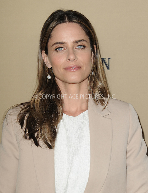 WWW.ACEPIXS.COM<br /> <br /> October 3 2015, LA<br /> <br /> Amanda Peet arriving at the premiere of FX's 'American Horror Story: Hotel' at the Regal Cinemas L.A. Live on October 3, 2015 in Los Angeles, California.<br /> <br /> <br /> By Line: Peter West/ACE Pictures<br /> <br /> <br /> ACE Pictures, Inc.<br /> tel: 646 769 0430<br /> Email: info@acepixs.com<br /> www.acepixs.com