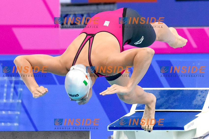 Elena GEMO ITA <br /> 50 Butterfly Women <br /> London, Queen Elizabeth II Olympic Park Pool <br /> LEN 2016 European Aquatics Elite Championships <br /> Diving  <br /> Day 08 16-05-2016<br /> Photo Andrea Staccioli/Deepbluemedia/Insidefoto