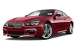 Stock pictures of low aggressive front three quarter view of 2017 BMW 6-Series-Coupe 650i 3 Door Coupe Low Aggressive
