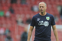 Burnley Assistant Manager Ian Woan during the pre-match warm-up <br /> <br /> Photographer Kevin Barnes/CameraSport<br /> <br /> The Premier League - Southampton v Burnley - Sunday August 12th 2018 - St Mary's Stadium - Southampton<br /> <br /> World Copyright &copy; 2018 CameraSport. All rights reserved. 43 Linden Ave. Countesthorpe. Leicester. England. LE8 5PG - Tel: +44 (0) 116 277 4147 - admin@camerasport.com - www.camerasport.com