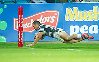 Picture by Allan McKenzie/SWpix.com - 10/05/2018 - Rugby League - Ladbrokes Challenge Cup - Featherstone Rovers v Hull FC - LD Nutrition Stadium, Featherstone, England - Hull FC's Bureta Faraimo scores a try against Featherstone.