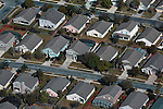 Aerial photograph of  Orlando Florida neighborhood, housing developments,