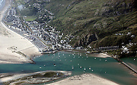 Barmouth<br /> Re: Aerial view of Wales. Sunday 14 June 2009<br /> Picture by D Legakis Photography / Athena Picture Agency, 24 Belgrave Court, Swansea, SA1 4PY, 07815441513