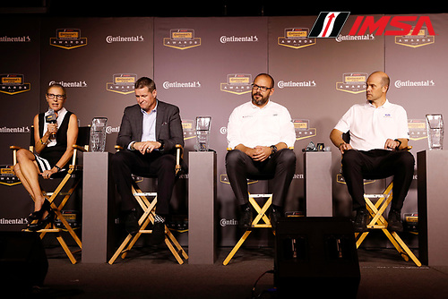2018 Continental Tire SportsCar Challenge Awards, <br /> Tonine McGarvey, Randy Clements, Chris Reinke, Mark Rushbrooke