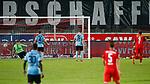 09.06.2020, xtgx, Fussball 3. Liga, Hallescher FC - SV Waldhof Mannheim emspor, v.l. Terrence Boyd (Halle, 13) schiesst Tor, Torschuetze, erzielt Tor, Treffer, scores the goal 2:0 beim Spiel in der 3. Liga, Hallescher FC - SV Waldhof Mannheim.<br /> <br /> Foto © PIX-Sportfotos *** Foto ist honorarpflichtig! *** Auf Anfrage in hoeherer Qualitaet/Aufloesung. Belegexemplar erbeten. Veroeffentlichung ausschliesslich fuer journalistisch-publizistische Zwecke. For editorial use only. DFL regulations prohibit any use of photographs as image sequences and/or quasi-video.