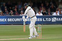 Steven Patterson of Yorkshire is bowled out by Peter Siddle during Essex CCC vs Yorkshire CCC, Specsavers County Championship Division 1 Cricket at The Cloudfm County Ground on 7th July 2019
