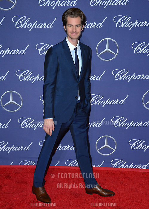 Actor Andrew Garfield at the 2017 Palm Springs Film Festival Awards Gala. January 2, 2017<br /> Picture: Paul Smith/Featureflash/SilverHub 0208 004 5359/ 07711 972644 Editors@silverhubmedia.com