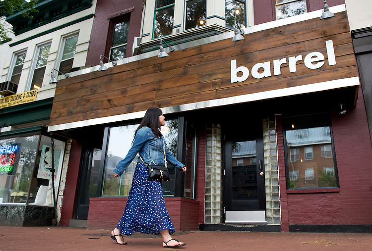 UNITED STATES - MAY 14: Barrel restaurant on Pennsylvania Avenue, SE, is photographed, May 14, 2014. (Photo By Tom Williams/CQ Roll Call)