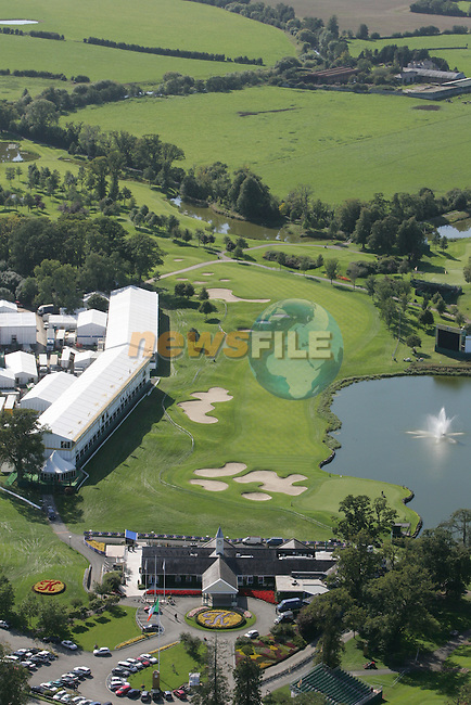Final preparations are made for 2006 Ryder cup at the K Club in Straffin Co Kildare. An ariel view of the club..Hole by Hole details will be added in the next few hours..Photo: Fran Caffrey/ Newsfile.<br />