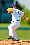 6 March 2006: Jonathan Broxton, pitcher for the Los Angeles Dodgers, winds up during a Spring Training game against the Washington Nationals. The Nationals and Dodgers played to a scoreless tie at Holeman Stadium, in Vero Beach Florida...Mandatory Photo Credit: Ed Wolfstein..