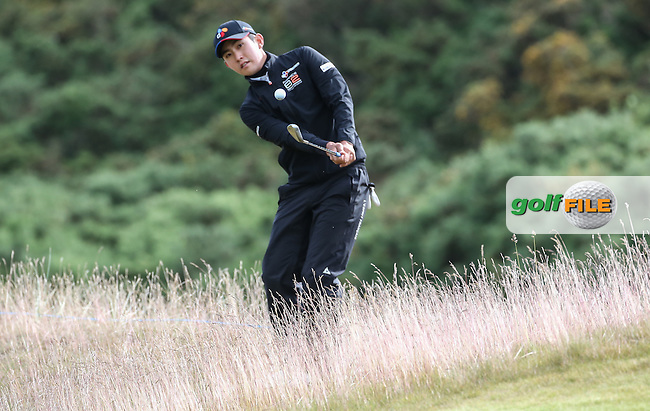 Soomin Lee (KOR) during the First Round of the 2016 Aberdeen Asset Management Scottish Open, played at Castle Stuart Golf Club, Inverness, Scotland. 07/07/2016. Picture: David Lloyd | Golffile.<br /> <br /> All photos usage must carry mandatory copyright credit (&copy; Golffile | David Lloyd)