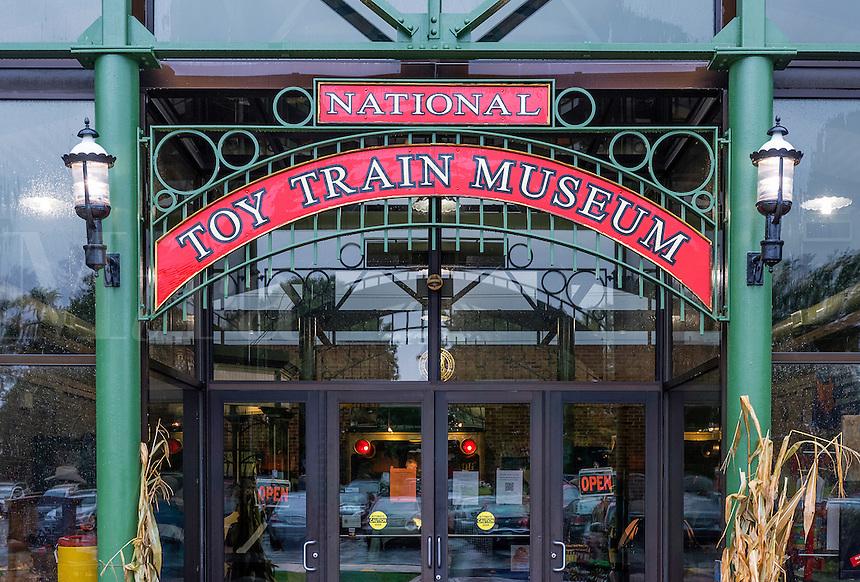 Toy Train Museum, Ronks, Lancaster, Pennsylvania, USA