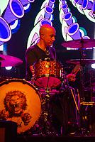 SÃO PAULO, SP, 01.09.2018 - SHOW-SP - Haroldo Ferretti,  Baterista da banda Skank durante durante show no Credicard Hall em São Paulo, na noite deste sábado, 01,  (Foto: Anderson Lira/Brazil Photo Press)
