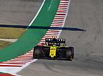02.11.2019, Circuit of The Americas, Austin, FORMULA 1 EMIRATES UNITED STATES GRAND PRIX 2019<br /> ,im Bild<br />Nico Hülkenberg (GER#27), Renault F1 Team<br /> <br /> Foto © nordphoto / Bratic