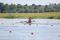 Race: 53  Event: Single Sculls - Championship - Heat 2<br /> <br /> National Schools Regatta 2018<br /> Sunday<br /> <br /> To purchase this photo, or to see pricing information for Prints and Downloads, click the blue 'Add to Cart' button at the top-right of the page.