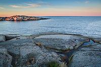 Havshorisonten utanför Hallskär i Stockholms skärgård. / Stockholm archipelago Sweden
