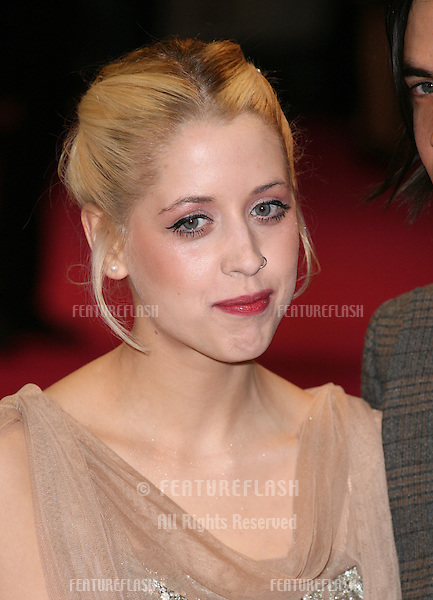 Peaches Geldof arriving for the European Premiere of 'One Day' at Westfield, west London. 23/08/2011  Picture by: Alexandra Glen / Featureflash