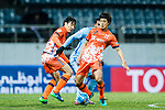 Jeju United FC Midfielder Kwon Soonhyung in action during the AFC Champions League 2017 Group H match between Jeju United FC (KOR) vs Jiangsu FC (CHN) at the Jeju World Cup Stadium on 22 February 2017 in Jeju, South Korea. Photo by Marcio Rodrigo Machado / Power Sport Images